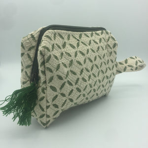 Cotton Quilted Pouch