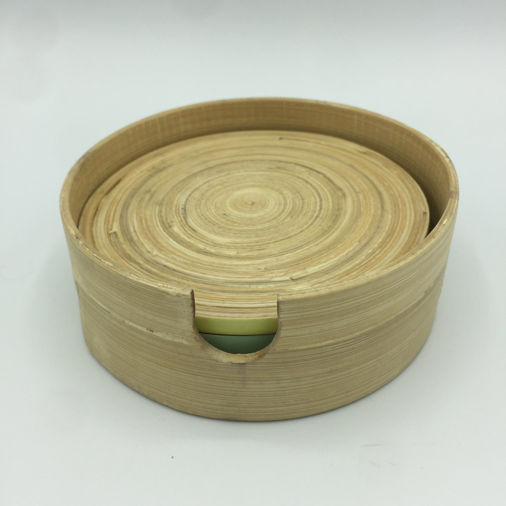 Set of 4 Bamboo Coasters