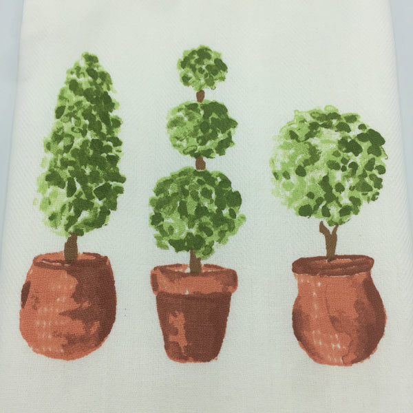 Topiary Tea Towel