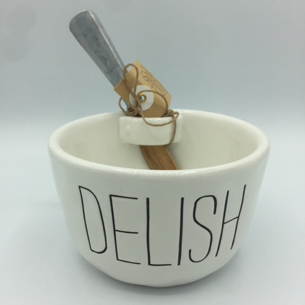 "Bistro Dip Bowl Set ""Delish"""