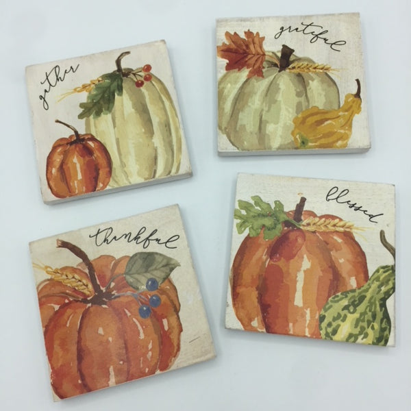 Wooden Fall Coasters