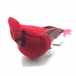 Felt Cardinal Ornament with Clip
