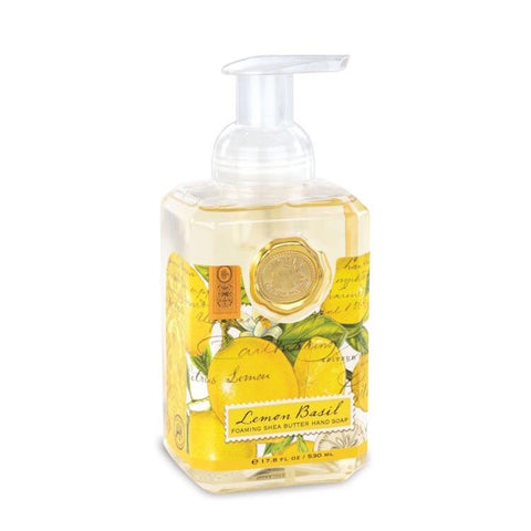 Lemon Basil Foaming Hand Soap