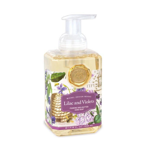 Lilac & Violets Foaming Hand Soap