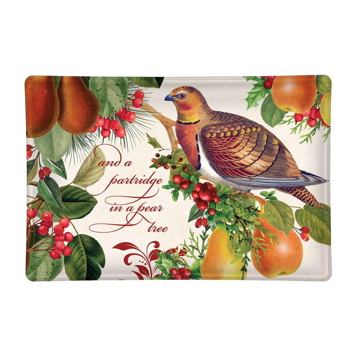 Partridge in a Pear Tree Placemats
