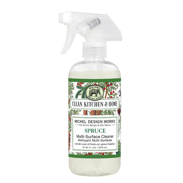 Scented Multi-Surface Cleaner: Lemon Basil, Palm Breeze, Spruce or Lavender Rosemary