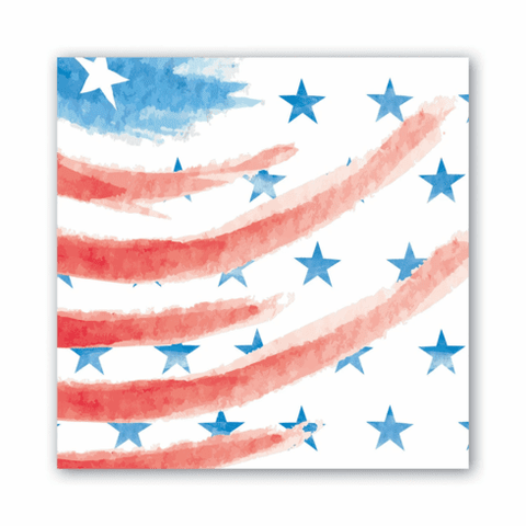 "20 Paper Luncheon Napkins ""4th of July"""