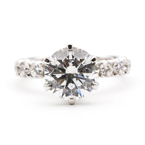 3.03 Carat GIA Certified Diamond Ring Ring Imperial Jewellery - Auctions, Antique, Vintage & Estate