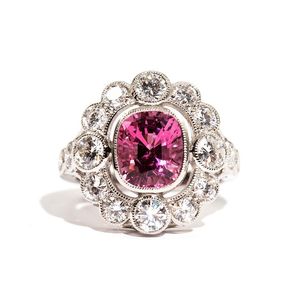 Aggie Spinel & Diamond Ring Ring Imperial Jewellery - Auctions, Antique, Vintage & Estate