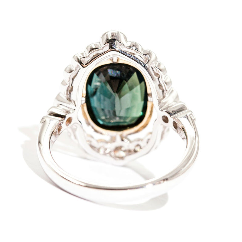 Byron Sapphire & Diamond Ring Ring Imperial Jewellery - Auctions, Antique, Vintage & Estate