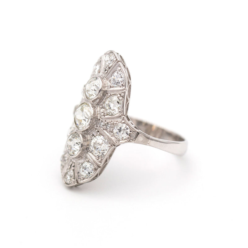 Catalina Diamond Ring Rings Imperial Jewellery - Auctions, Antique, Vintage & Estate
