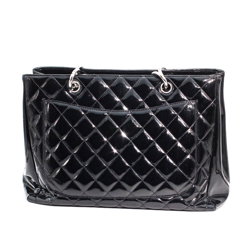 Chanel Quilted Tote Black