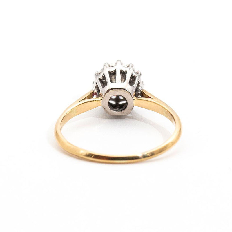 Daisy Vintage Diamond Ring Rings Imperial Jewellery - Auctions, Antique, Vintage & Estate