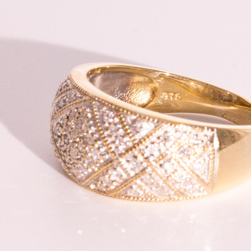 Demetria Diamond Ring Rings Imperial Jewellery - Auctions, Antique, Vintage & Estate