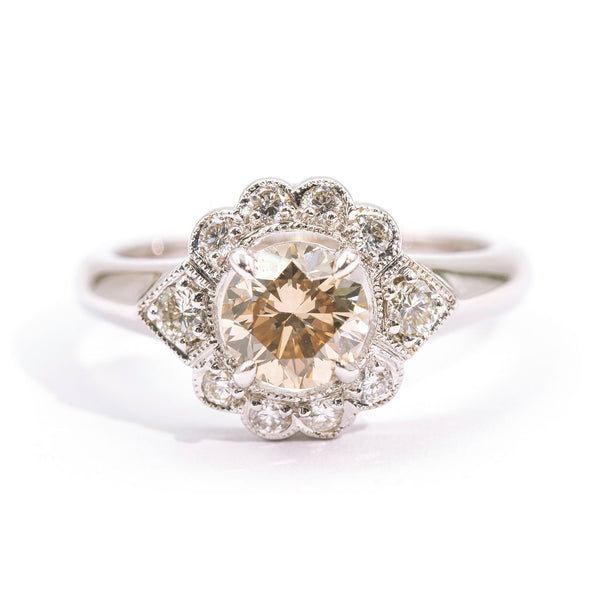 Diamond-vintage-engagement-ring-tahlia-ij-0121-414 Rings Imperial Jewellery - Auctions, Antique, Vintage & Estate