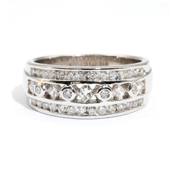 Dress-Ring-Diamond-Band-Caydence-IJ-0321-467 Imperial Jewellery - Auctions, Antique, Vintage & Estate