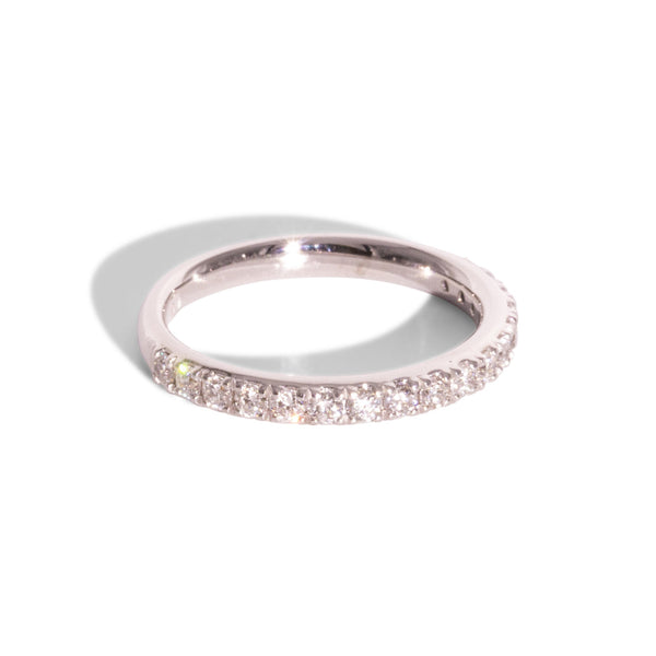 Eternity Ring Diamond White gold