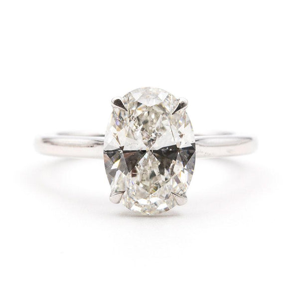Hannah 2.60 Carat Oval Diamond Ring Ring Imperial Jewellery - Auctions, Antique, Vintage & Estate