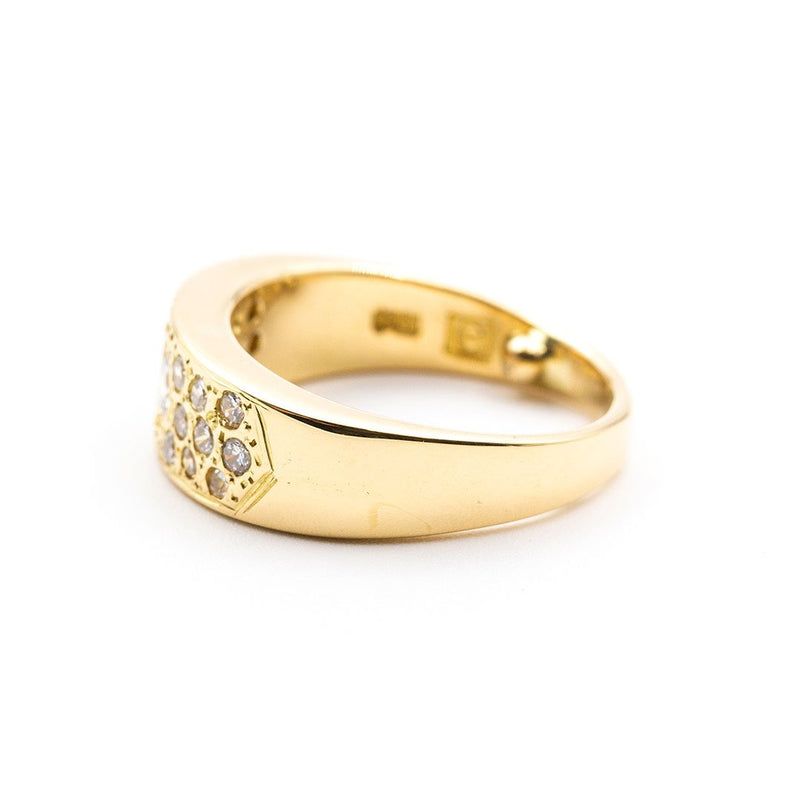 diamond ring yellow gold