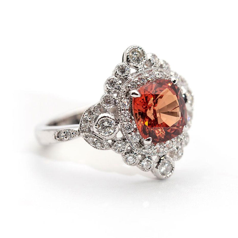 Leia Spinel and Diamond Ring Ring Imperial Jewellery - Auctions, Antique, Vintage & Estate