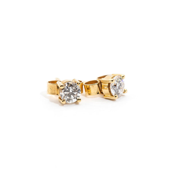 Maggie Diamond Studs Earrings Imperial Jewellery - Auctions, Antique, Vintage & Estate