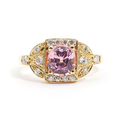 Mariah Spinel & Diamond Ring Ring Imperial Jewellery - Auctions, Antique, Vintage & Estate