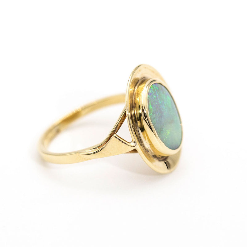 Marie Opal Ring Rings Imperial Jewellery - Auctions, Antique, Vintage & Estate