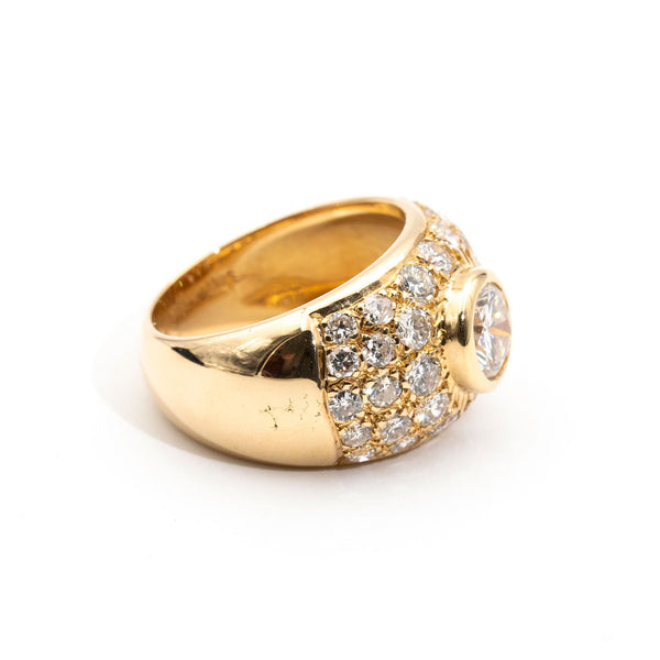 Rebecca Diamond Ring Rings Imperial Jewellery - Auctions, Antique, Vintage & Estate