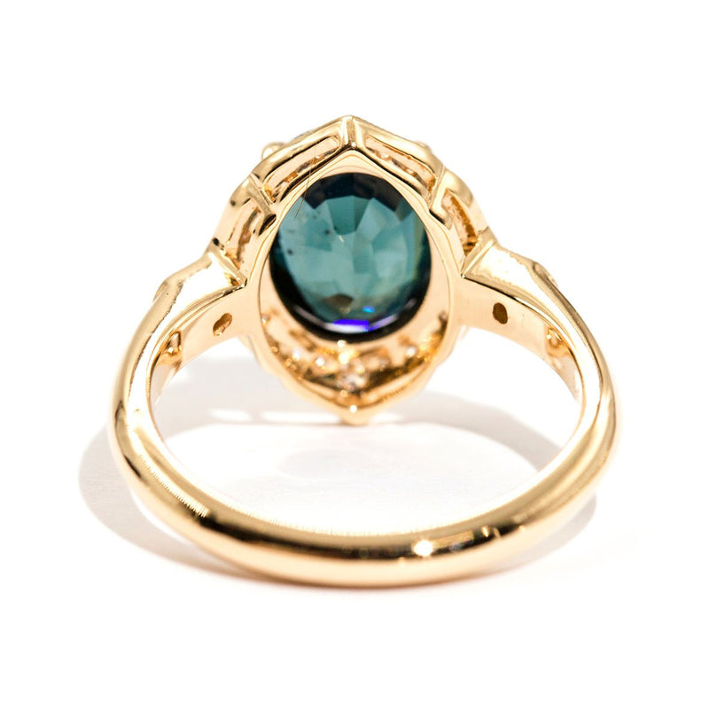 Robe Sapphire & Diamond Ring Ring Imperial Jewellery - Auctions, Antique, Vintage & Estate
