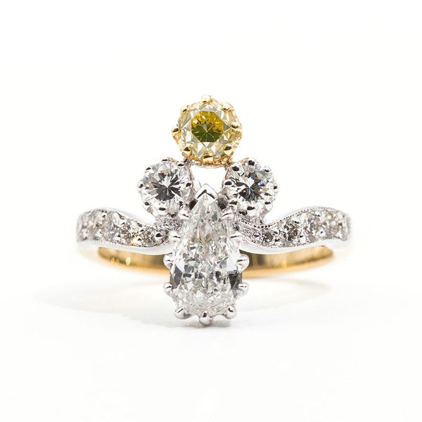 Saville Diamond Ring Ring Imperial Jewellery - Auctions, Antique, Vintage & Estate