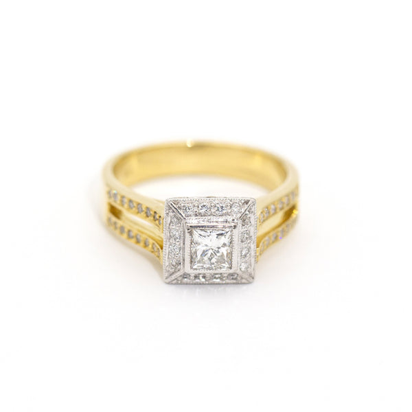 Summa 1.01ct Diamond Ring Rings Imperial Jewellery - Auctions, Antique, Vintage & Estate