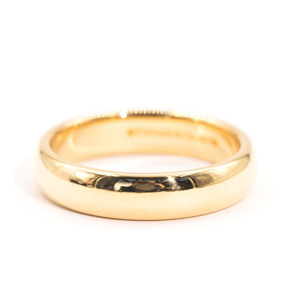 Tiffany & Co Tiffany Classic Wedding Band Ring Imperial Jewellery - Auctions, Antique, Vintage & Estate