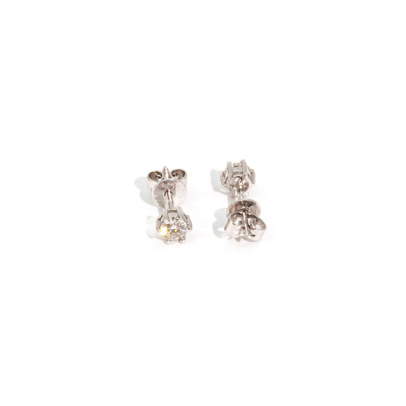 Tullia Diamond Earrings Earrings Imperial Jewellery - Auctions, Antique, Vintage & Estate