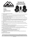"Jeep Grand Cherokee WJ/WG 1-3/4"" Spacer Kit"