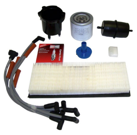 Tune Up Kit for Wrangler YJ 1987-1990 w/2.5L Fuel-Injected EFI engine (Crown TK12)
