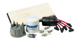 Tune Up Kit for Wrangler YJ 1991-1993 w/2.5L Engine w/Metric Oil Filter Threads (Crown TK14)