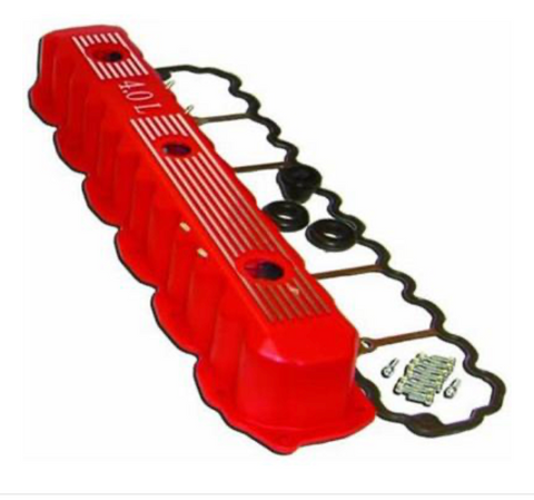 Jeep Valve Cover Kit (Red)