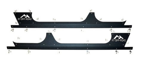 Jeep Wrangler Rocker Panel Guard Set (4 Dr)