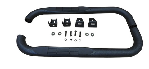Jeep Wrangler Tube Side Steps (Textured Black) Crown# RT26016