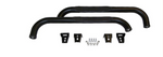 Jeep Wrangler Tube Side Steps (Semi-Gloss Black) Crown# RT26015