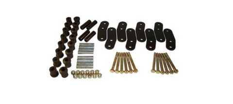 Heavy Duty Greasable (4 Springs) Shackle Kit for Wrangler YJ