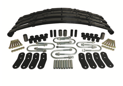 Leaf Spring Kit (Front and Rear) for Wrangler YJ