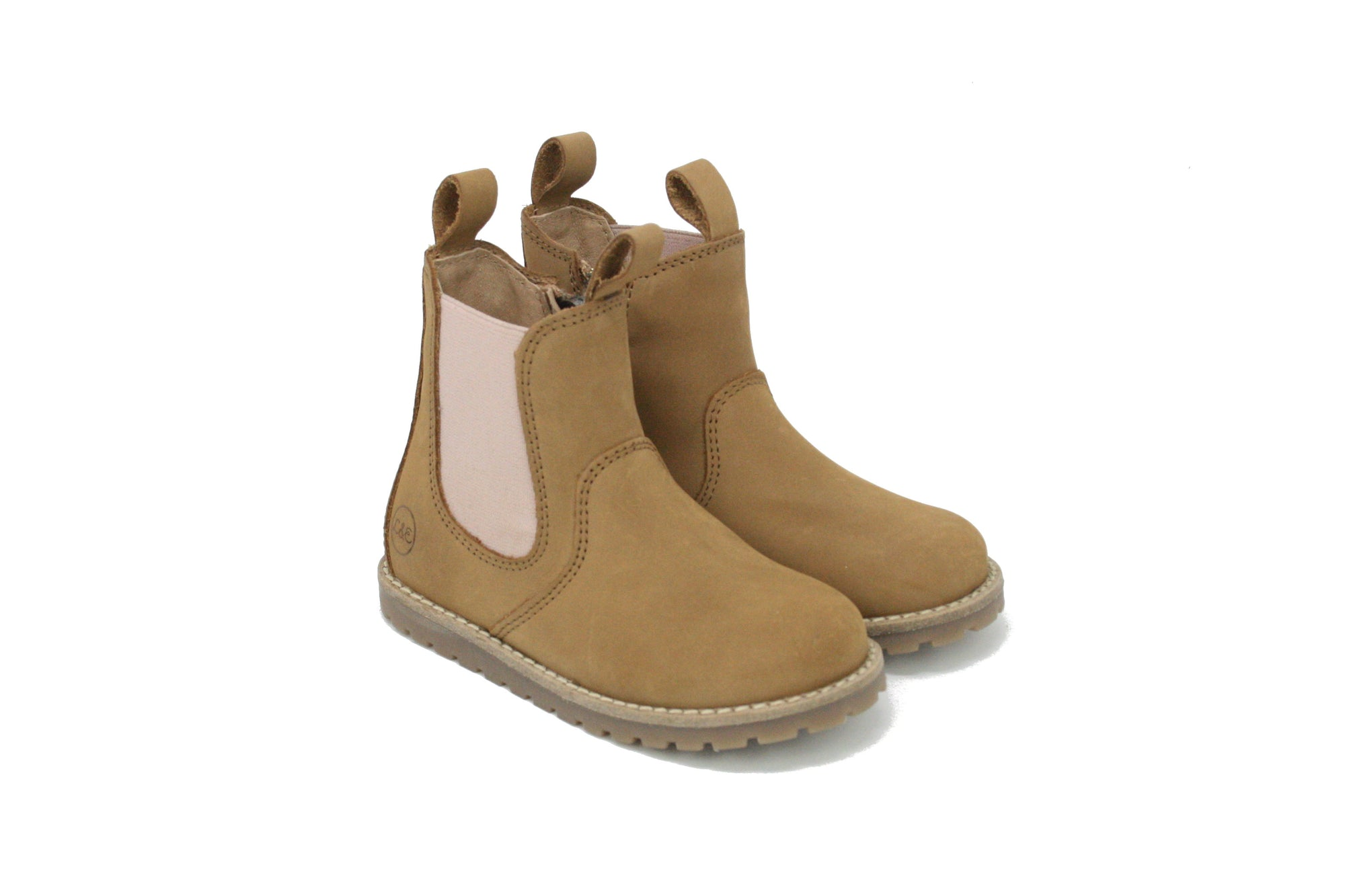CHELSEA BOOT_winter_taupe/rosa