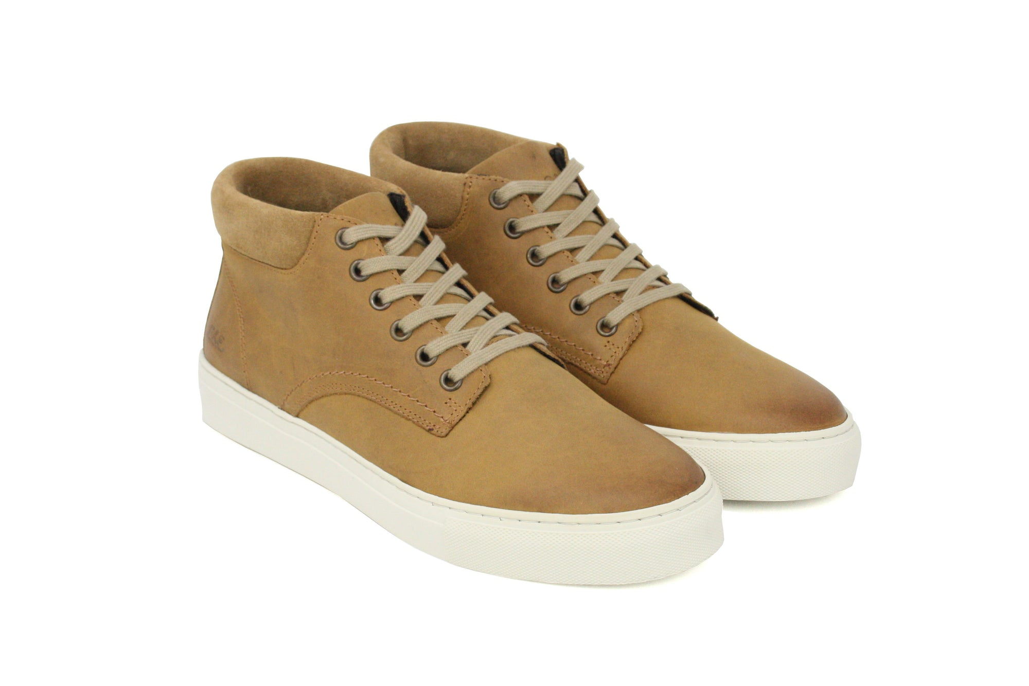 SNEAKER HIGH MEN camel