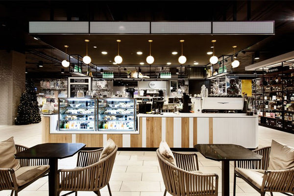 the break cafe, myer warringah mall
