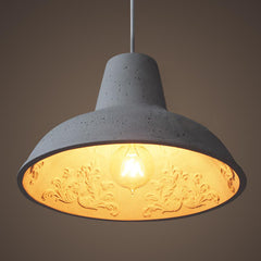 Reims Garden Concrete Cement Pendant Ceiling Light