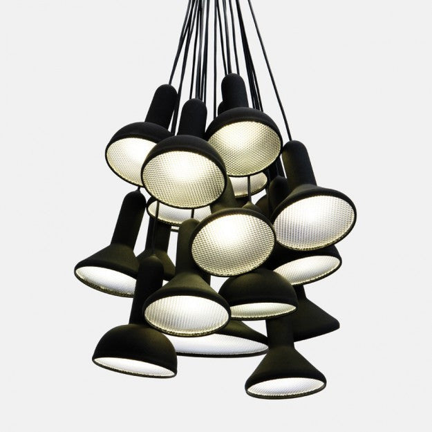 Torch Pendant Light 20 head chandelier