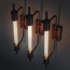 Antique Pencil Bulb Wall Light
