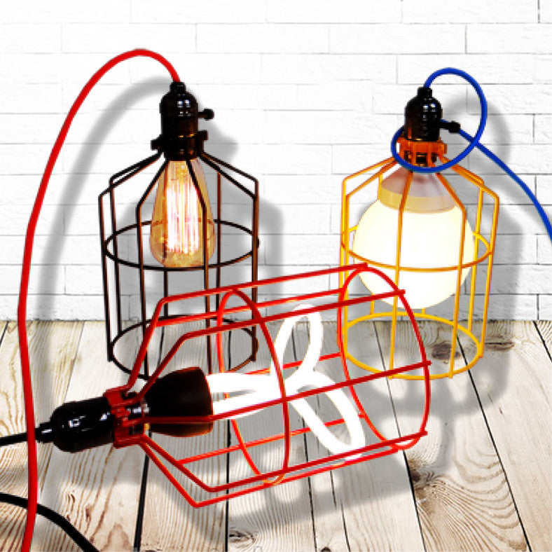 Billy cage colour match cage lamp