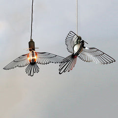 Bird Lightbulb Garland Hanging Pendant Light